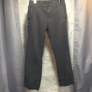 "GAP ""The Surplus"" Gray Pinstriped Pant"